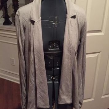 Splendid Women's Open Cardigan Shirt Size Medium