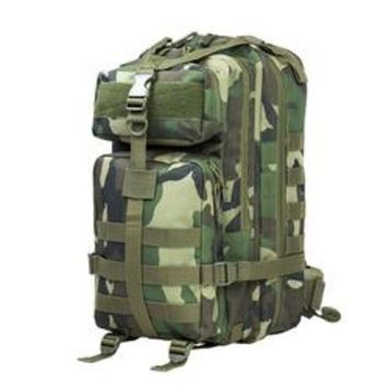 Small Backpack Woodland Camo