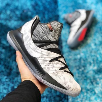 Under Armour Curry 5 Light Gray Basketball Shoe 40-46