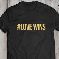 Love wins shirt, Love wins t-shirt, #Lovewins, Lovewins, Gay shirt, Lesbian shirt, UNISEX