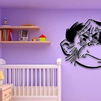 Wall Stickers Vinyl Decal Monkey Animal for Kids Baby Room Nursery Unique Gift (ig814)