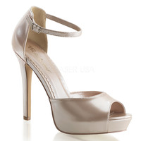 Champagne Women's y Shoes w/ 4 3/4 Inch Heels