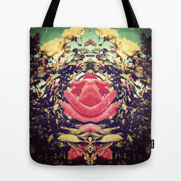 KaleidoFlowers Tote Bag by DuckyB (Brandi)