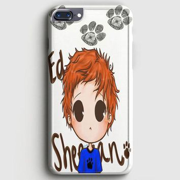 Ed Sheeran Black And White iPhone 8 Plus Case | casescraft