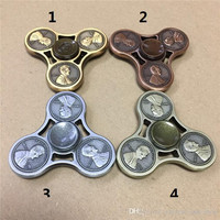 Zinc Alloy  Coin Cents Tri Hand Spinner Finger Decompression