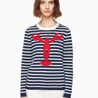 lobster stripe sweater