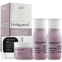 Living Proof Restore Repairing & Damage Reversing Travel Kit (Restore Discovery Kit)