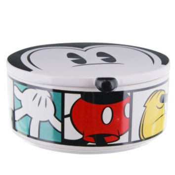 Disney Ceramic Mickey w/ Lid Dog Bowl - Ceramic - Bowls & Feeding Accessories - PetSmart