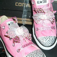 converse blinged up bnwt any size   from shannybear