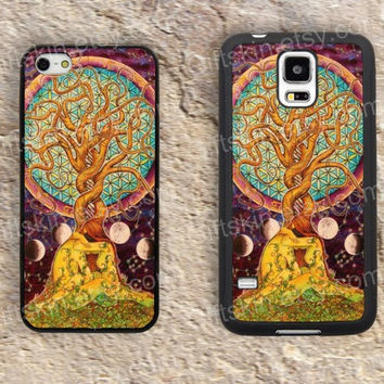 Life tree case Watercolor tree iphone 4 4s iphone  5 5s iphone 5c case samsung galaxy s3 s4 case s5 galaxy note2 note3 case cover skin 196