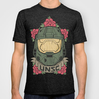 Halo UNSC T-shirt by Daniel Mackey