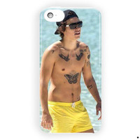 Harry Styles Topless Tattoo Art For iPhone 5 / 5S / 5C Case