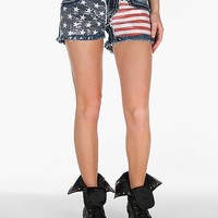 Miss Me Flag Stretch Short