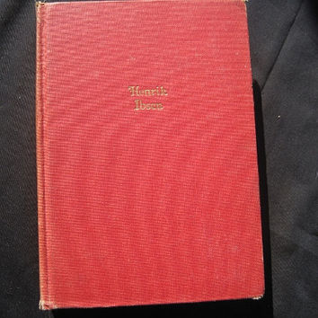 The Works of Henrik Ibsen One Volume Edition Hardcover No Jacket