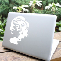 Marilyn Monroe Mac Book Mac Book Air Mac Book Pro Mac Sticker Mac Decal Apple Decal Mac Decals