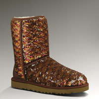 UGG® Classic Short Sparkles for Women | Sequin Boots at UGGAustralia.com