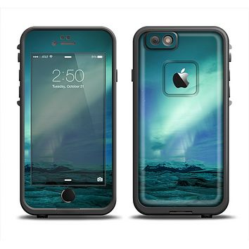The Glowing Northern Lights Apple iPhone 6 LifeProof Fre Case Skin Set