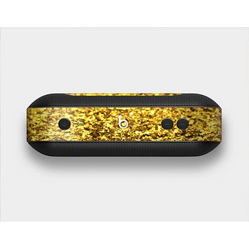 The Gold Glimmer Skin Set for the Beats Pill Plus