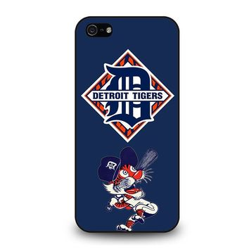 DETROIT TIGERS BASEBALL iPhone 5 / 5S / SE Case Cover