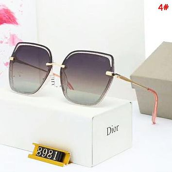 DIOR Women Fashion New Polarized Sun Protection Glasses Eyeglasses 4#