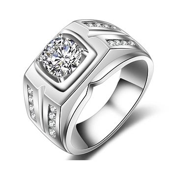 Men's High Quality Engagement Ring