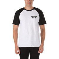 Full Patch SS Raglan T-Shirt | Shop Mens T-Shirts at Vans