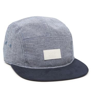 Vans Davis 5 Panel Camper Navy Heather Hat - Mens Backpack - Blue - One