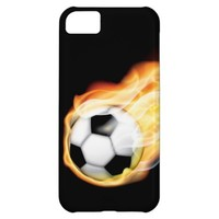 Flaming Football iPhone 5 Case