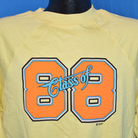 80s Class of 1988 Deadstock Sweatshirt Large