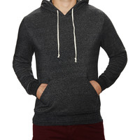 Alternative Apparel Men's Hoodlum Eco-Fleece Pullover Hoodie - Black