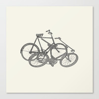 Bicycle, Bicycle, Bicycle Canvas Print by anipani