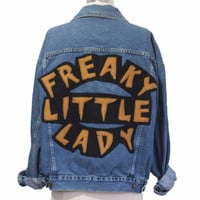 Freaky Little Lady Jean Jacket