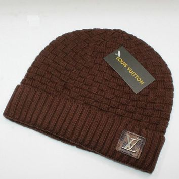 Perfect Louis Vuitton LV Fashion Edgy  Winter Beanies Knit Hat Cap