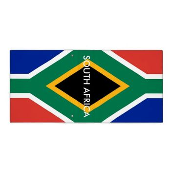 Binder with Flag of South Africa