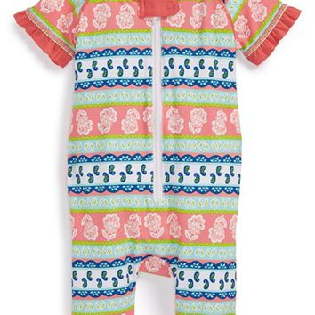 Infant Girl's Tucker + Tate Rashguard Coveralls