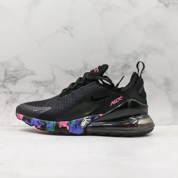 Nike Air Max 270 Black Camo Running Shoes - Best Online Sale