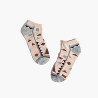 Spring Geometric Anklet Socks : shopmadewell AllProducts   Madewell