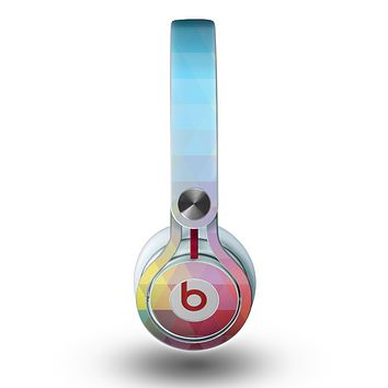 The HighLighted Colorful Triangular Love Skin for the Beats by Dre Mixr Headphones