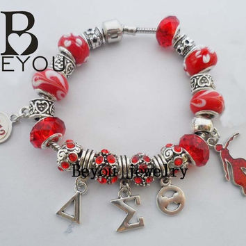 2015 Newest Delta Sigma Theta Sorority Bracelet