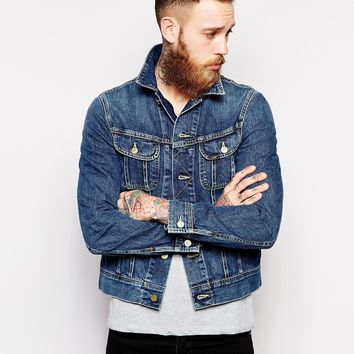 Lee Denim Jacket Rider Slim Fit Epic Blue -