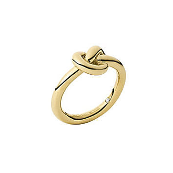 michael kors smooth metal knot ring from dillard s