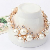 Pearl Stars Fashion Bracelet  | LilyFair Jewelry