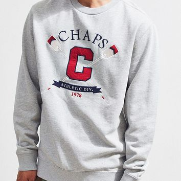 Chaps Fleece Crew Neck Sweatshirt | Urban Outfitters
