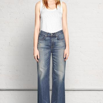 Shop the Loose Fit Wide Leg on rag & bone