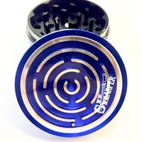 "Ball-in-a-maze puzzle Grinder - (2.5"")"