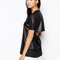 Cheap Monday T-Shirt With Open Back