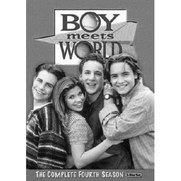 Boy Meets World Tv poster Metal Sign Wall Art 8in x 12in Black and White