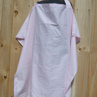 SALE!!!Spring/ Summer Pink Lattice Nursing Cover