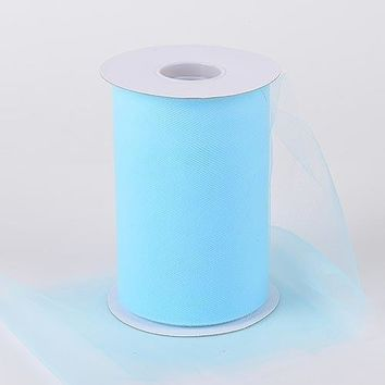 Light Blue Tulle Roll