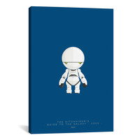 Fred Birchal FAMOUS ROBOTS SERIES: THE HITCHHIKER'S GUIDE TO THE GALAXY